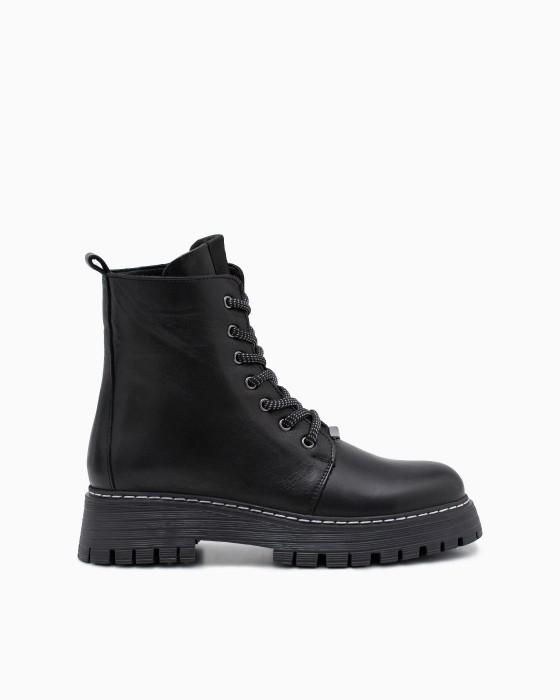 Демисезонные ботинки ROU на шуровке