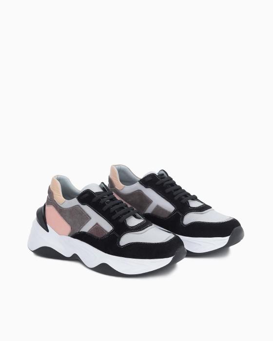 Комбинированные кроссовки ROU