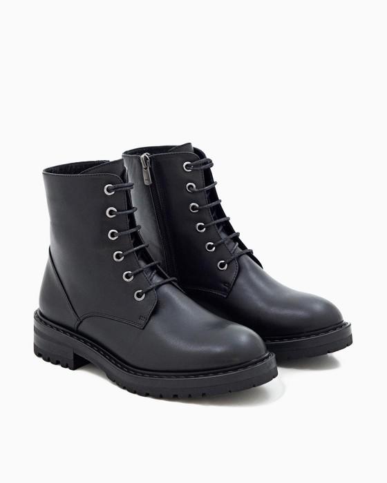Зимние ботинки ROU с грубой подошвой