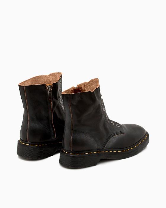 Винтажные ботинки без шнуровки ROU