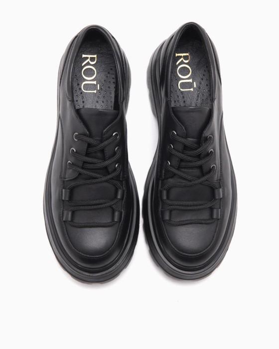 Туфли ROU с длинной шнуровкой