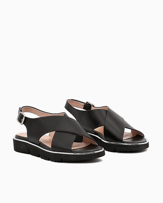 Черные сандалии Brocoli на EVA подошве