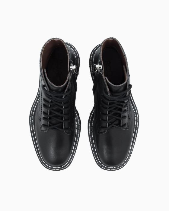 Ботинки ROU с грубой подошвой