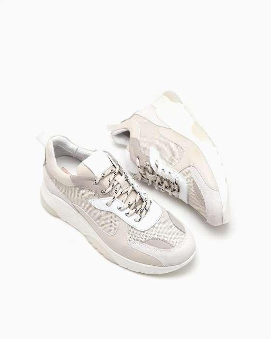 Светло-серые кроссовки Alpino