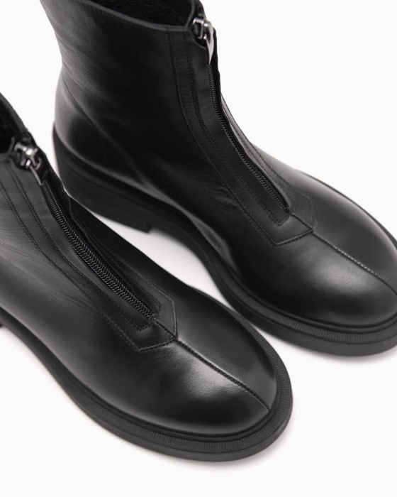 Демисезонные ботинки ROU с замком в передней части