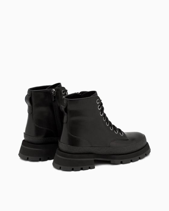 Демисезонные черные ботинки ROU c EVA подошвой