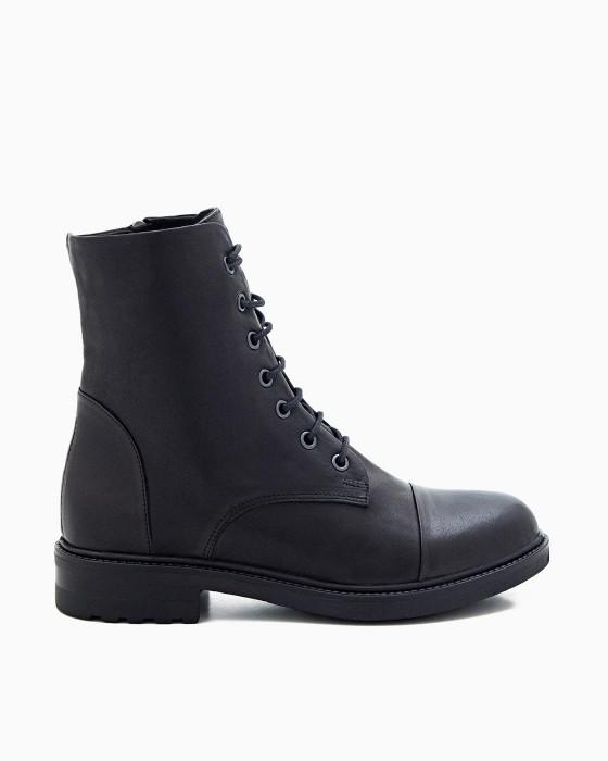 Высокие ботинки со шнуровкой ROU