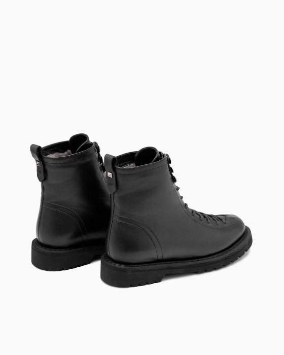 Зимние ботинки ROU с длинной шнуровкой