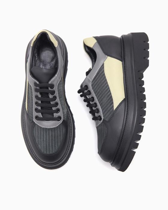Туфли на массивной подошве Aquamarin