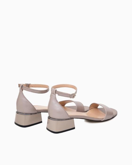 Летние кожаные туфли ROU