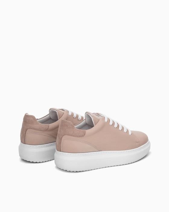 Розовые объемные кеды ROU