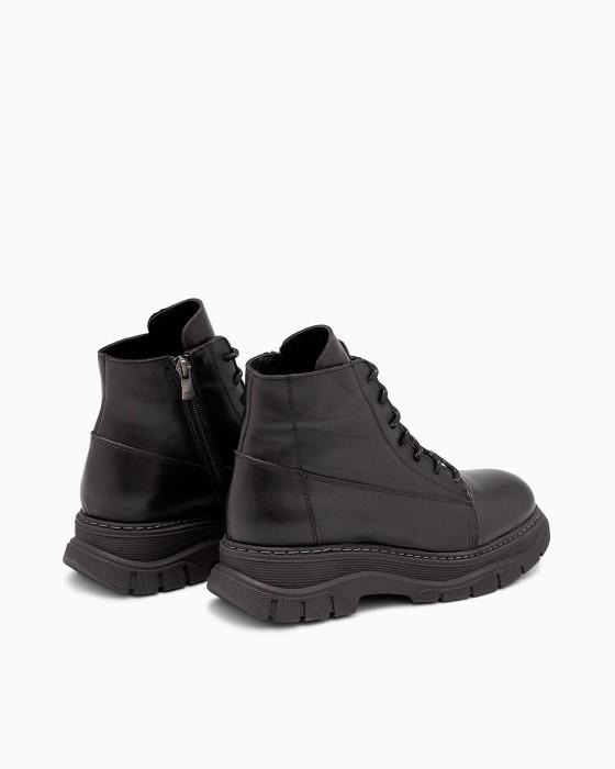 Демисезонные ботинки ROU с небольшой платформой
