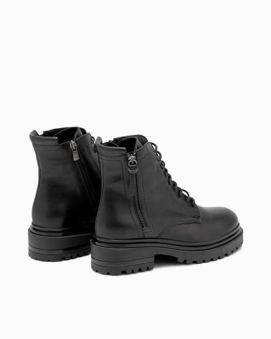 Демисезонные ботинки ROU c имитацией замка на внешней стороне