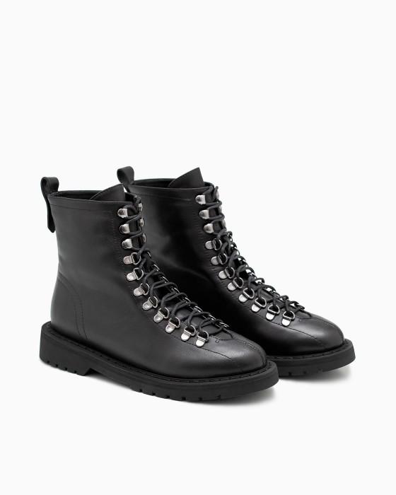 Ботинки с открытой шнуровкой ROU
