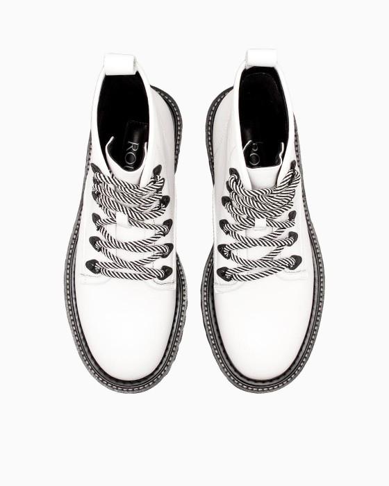 Белые ботинки ROU c EVA подошвой