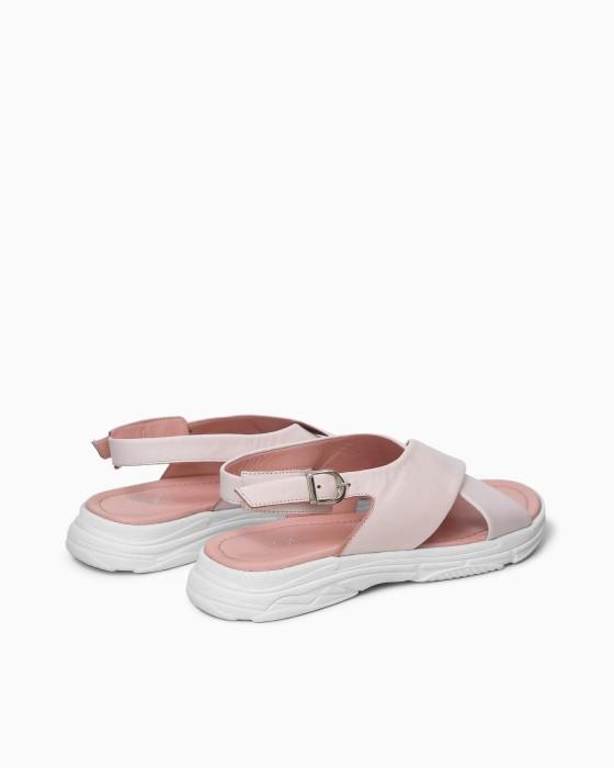 Сандалии ROU нежно-розового цвета