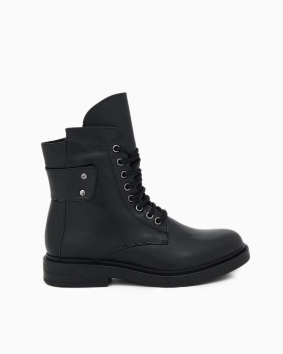 Высокие ботинки ROU на шнуровке