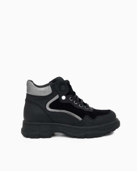Высокие  кроссовки ROU на массивной подошве