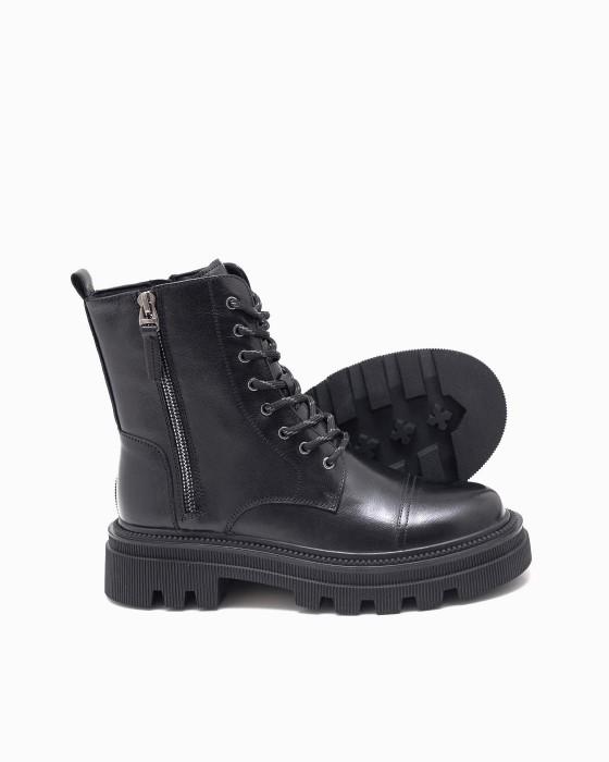 Демисезонные ботинки ROU с имитацией замка с внешней стороны